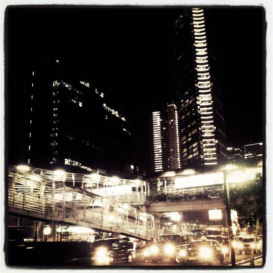 Night #nightview Hangout!  Jakarta INDONESIA