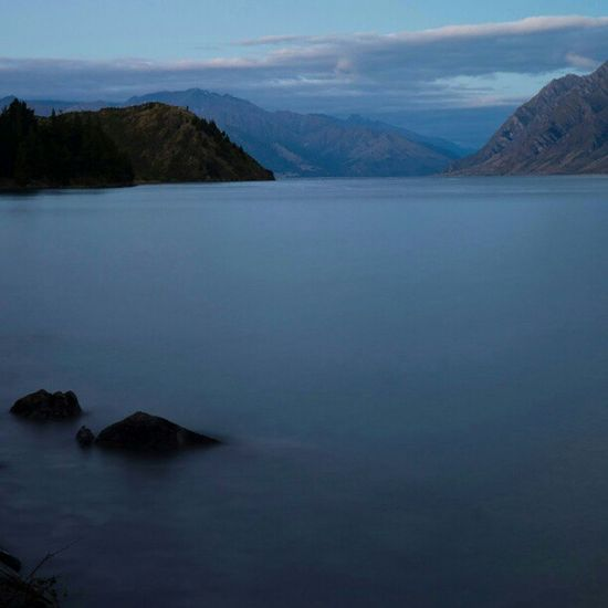 Sony Nex Nex5n Skopar 21mm newzealand landscape sunset wanaka longshutter