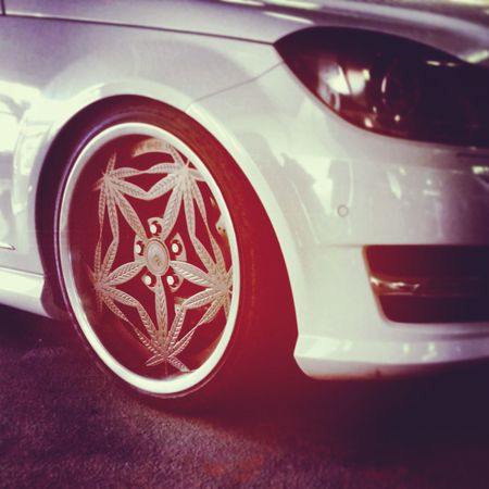 Tuning Fest 2015 for Babawest34 Marihuana Kush Rims C180 Mercedes