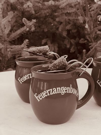 Feuerzangenbowle Chrismas Market Christmastime Punch Fire Tongs Punch Mulled Wine Drink Feuerzangenbowle Text Food And Drink Communication Drink