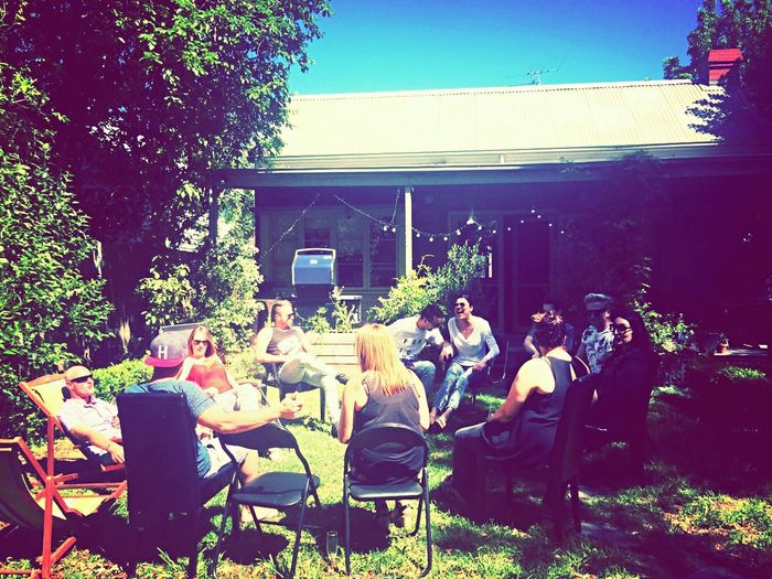 Friends Breast Cancer Fundraiser BBQ Good Deed Friends Charity Sunshine Friendship Just Chillin'