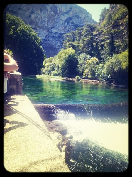 Frankreich ♥ Wasserfall *___* Berge Hot Weather