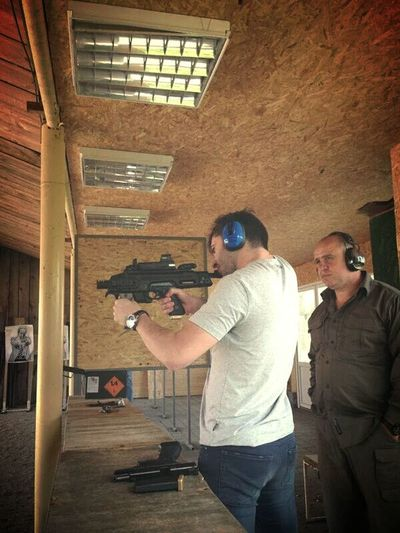 Gun Range Shooting Awesome Feeling Good