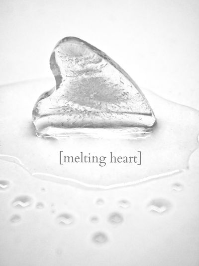 melting heart Close-up White Background Text No People Vertical Indoors  Day Community Outreach Melting Heart Heart Ice EyeEm Best Shots EyeEm Best Shots - My World EyeEm Best Shots - Black + White EyeEm Best Shots - Macro / Up Close