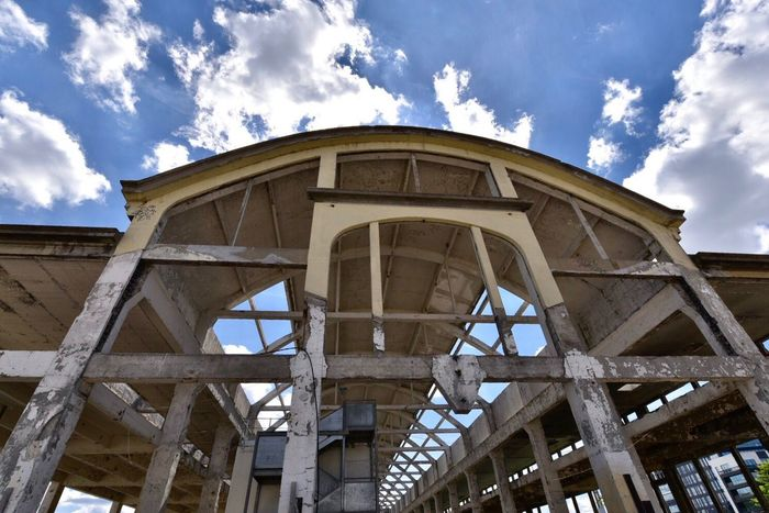 Cloud - Sky Sky Architecture Built Structure Low Angle View Day No People Outdoors Destruction Urbex Architecture