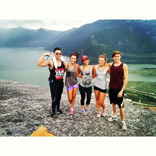 Conquered the chief with these beauties!! Squamishchief Peakone Thatview Champs feelingaccomplished??
