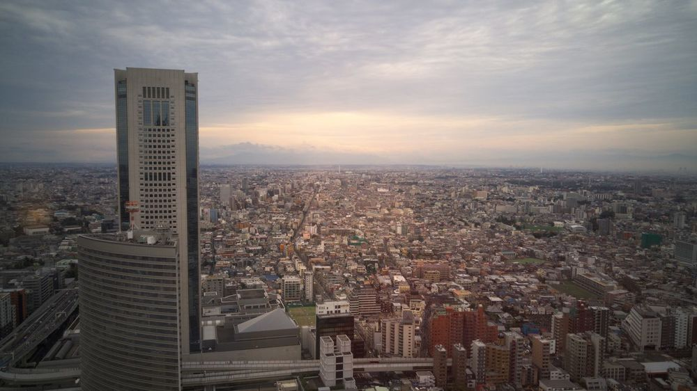 View from the Park Hyatt Tokyo - November 2015 Architecture City City Life Cityscape Elevated View Modern Park Hyatt Tokyo Skyscraper Tokyo Tokyo,Japan Travel Destinations