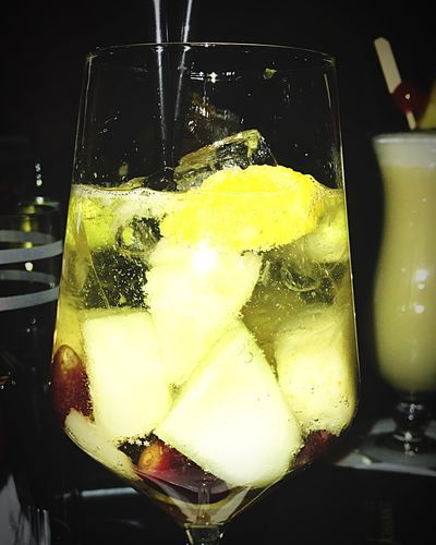 Cocktail Fruits Food And Drink Freshness Refreshment Food Frozen Food Cold Temperature Drink Sweet Food