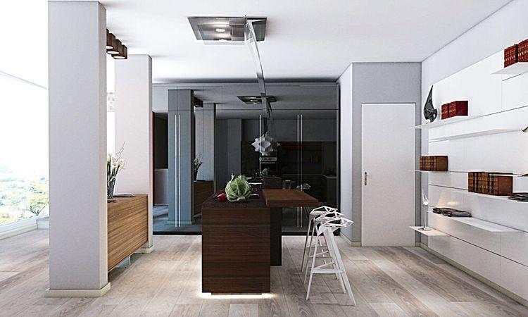 Renderings Valcucine Kitchen 3drender Interior Design Interior Architecture