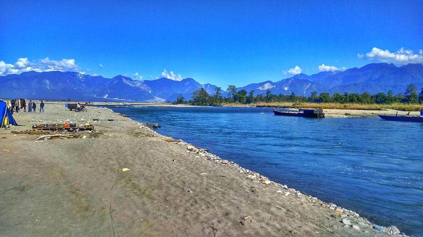 Arunachal Pradesh Blue Water Blue Sky Mountain View River View Clean Water Beautiful EyeEmNewHere