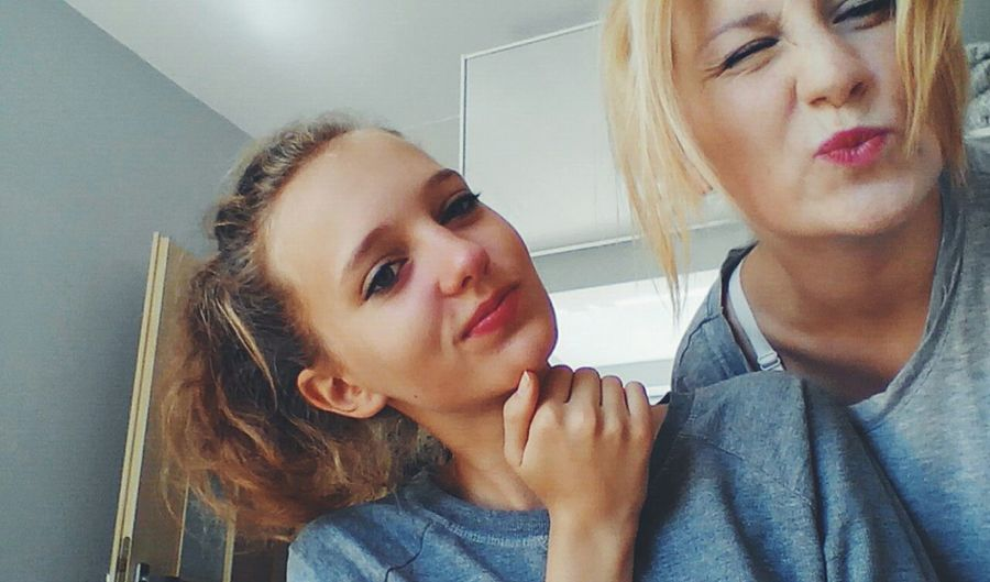 Polish Girl Blond Hair Kiss But First Let Me Take A Selfie