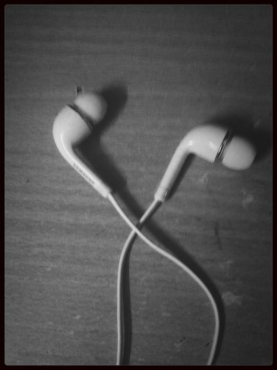 Technology I Can't Live Without Earphones On, World Out. (: loveee Good night