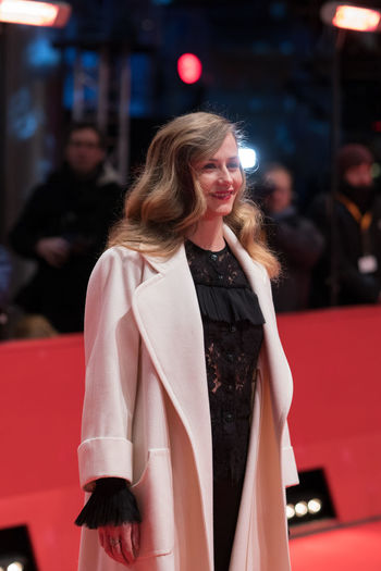 Berlin, Germany - February 24, 2018: Belgian actress Cecile de France attends the closing ceremony during the 68th Berlinale International Film Festival Berlin at Berlinale Palast AWARD Closing Ceremony Film Festival Portrait Of A Woman Woman Actress Arts Culture And Entertainment Beautiful Woman Belgian  Berlinale Berlinale 2018 Berlinale Festival Berlinale2018 Cecile De France Entertainment Entertainment Event Focus On Foreground Long Hair Mass Media One Person Portrait Posing Posing For The Camera Red Carpet Red Carpet Event