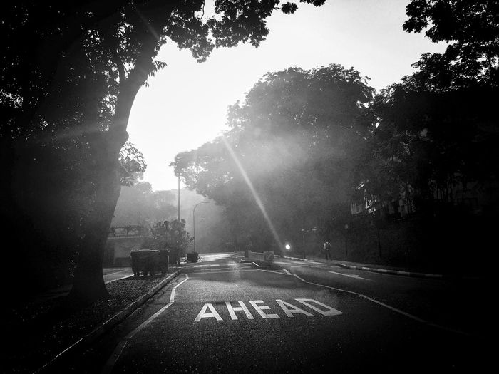 Journey Ahead Black & White Fine Art Photography Journey Journey Ahead Awaits Look Out On The Way Road Unknown 43 Golden Moments