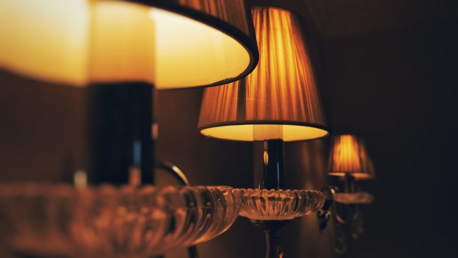 Selective Focus No People Close-up Illuminated Home Showcase Interior Interior Design Design Lamps Light And Shadow