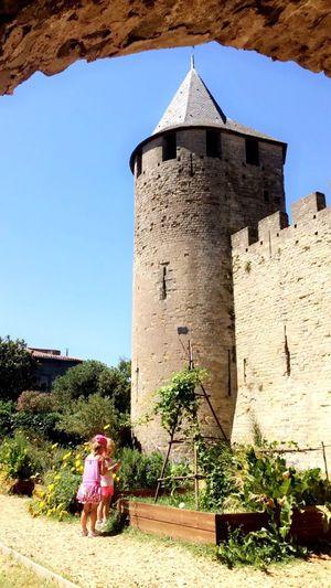 Tour IPhoneography Château First Eyeem Photo Vacances Architecture Enfant Nature Détente Butiful♥