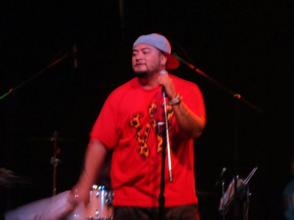 J Boog on stage opening for Rebelution in Tempe, Az. Arizona Reggae Marquee Theater J Boog