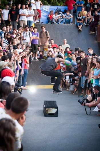 Still five months to go for the next Pannonian challenge, until that here's an old one Skateboarding Sports Pannonian Pannonian Challenge