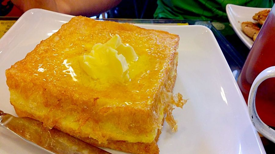 Kaya thick toast Yummy Breakfast Food Porn HK Food