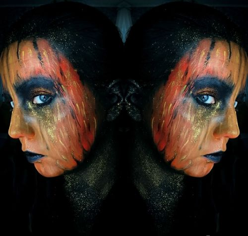 Human Body Part Human Face Make-up Stage Make-up Human Eye Close-up Artist Art Portrait Facepainting Face Face Paint FaceTime Painting One Person FaceArts Human Face Masks Human Body Art Art Paintings Colours Mua Artistic Artistic Photo Photo Photography Love Yourself