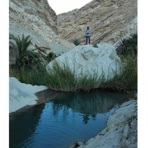 احرص على الصلاة اينما كنت تنعم بالحياة Pray Water_spring Mountain Palm Nature Naturelovers Green Bahrain Qatar Kuwait UAE KSA Oman