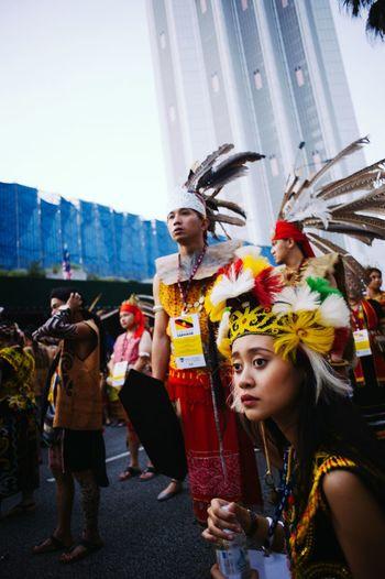Sarawakian waiting for the Independence parade to start. Untold Stories Parade Kuala Lumpur Malaysia  Sarawak Street Photography Streetphotography Merdeka58 Sehatisejiwa