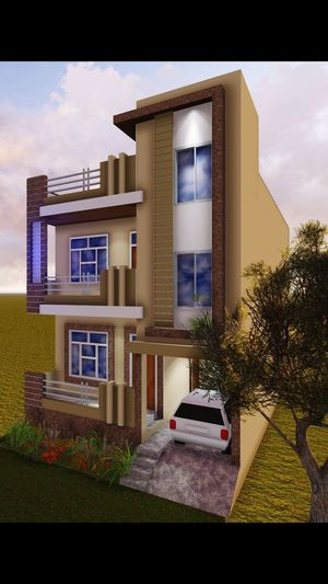 autocad ....... sketchup ....... lumion ....... photoshop Colony North X Township Apartment Home Interior Window House City Door Front Or Back Yard Home Ownership