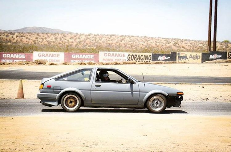 Toyota corolla (ae86) @ Grange Toyota Rolla Corolla Drifting Tires Goracing Godrift Fitness Driftfit Spacex Gas Performance Jdm