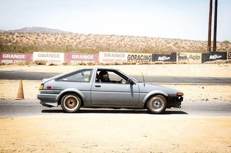 Toyota corolla (ae86) @ Grange Toyota Rolla Corolla Drifting Tires Goracing Godrift Fitness Driftfit Spacex Gas Performance Jdm