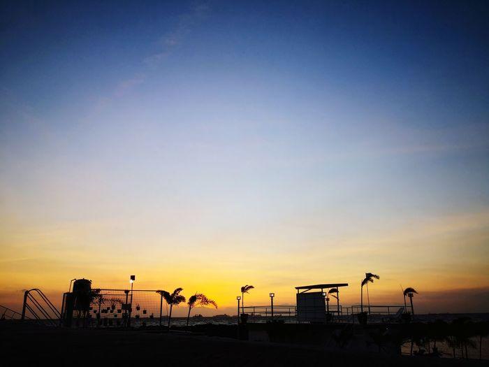 Glow EyeEm Selects Sunset Silhouette Water Bird Beach Sky Horizon Over Water Calm Shore
