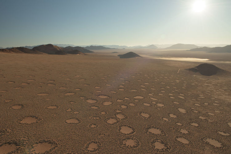 DJI X Eyeem Fairy Circles Hot Air Balloon Landscape Landscape_Collection Landscape_photography Namib Desert Namibia No People Sunrise