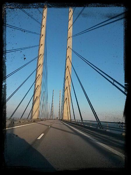 Enjoying Life GoingToWork öresundsbron from Sweden