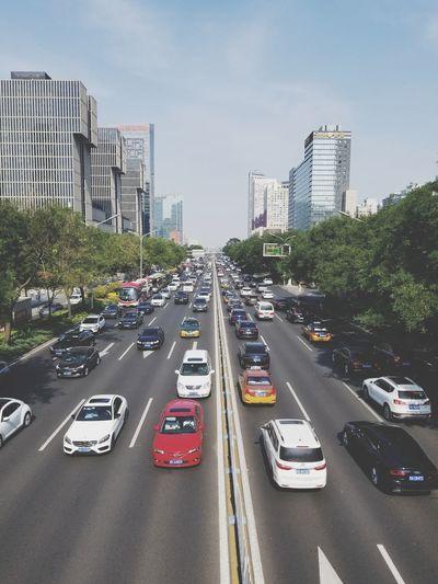 Cars Cityscape