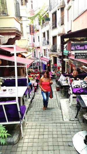 Cezayir Sokağı Walking Around Fransız Sokağı I Was There Upstairs