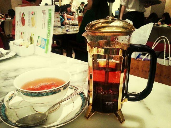 Apple tea@UCC