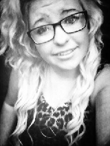 My Nerd Glasses Glasses Smile Blonde Hair
