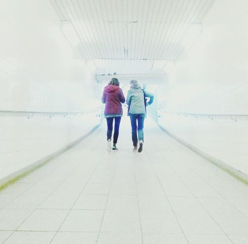 Artiseverywhere Togetherness Walking Subway Urban Light Two People Perspective EyeEmNewHere
