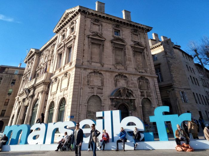 Marseilleinlove Marseillecity Jaimemarseille France 🇫🇷 City Street Street Photography City Life Cityscape EyeEm Best Shots Architecture_collection Igersmarseille Architecture Building Exterior Built Structure Real People People Outdoors Large Group Of People