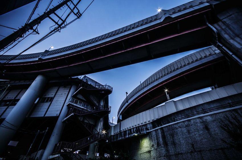 Japan Evning highway Street Cloudscape