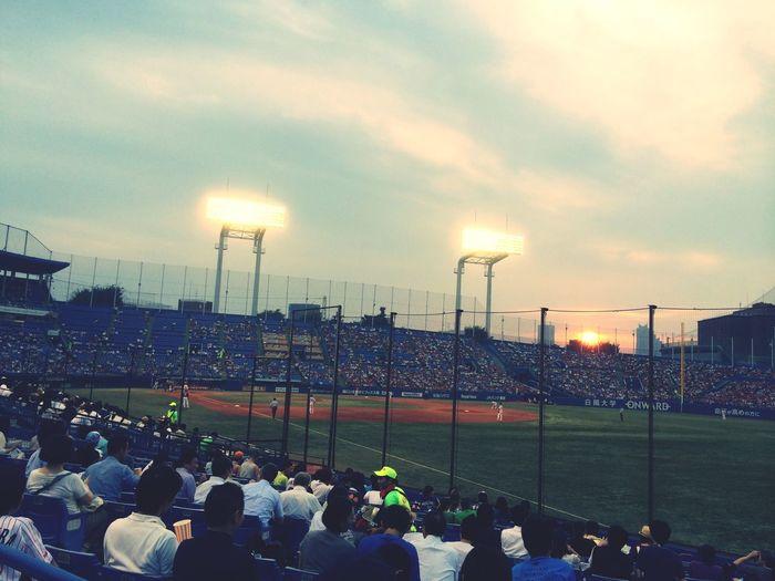 Exquisite Japan Baseball Sunset