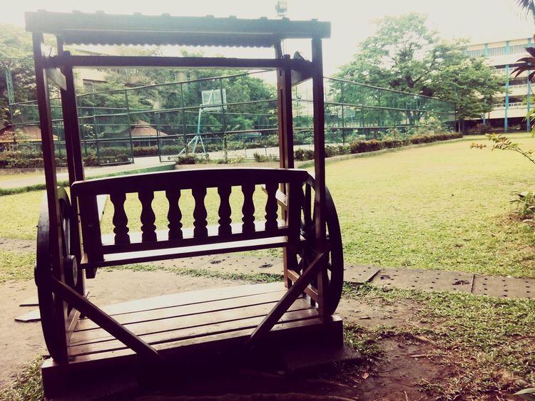 Wooden Swing School Property Last Day Peace ✌