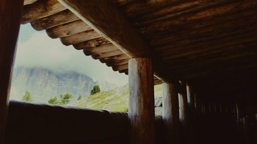 Trincee 1WW Dolomiti Bellunesi Mountains 5 Torri Cortina Italy Natura