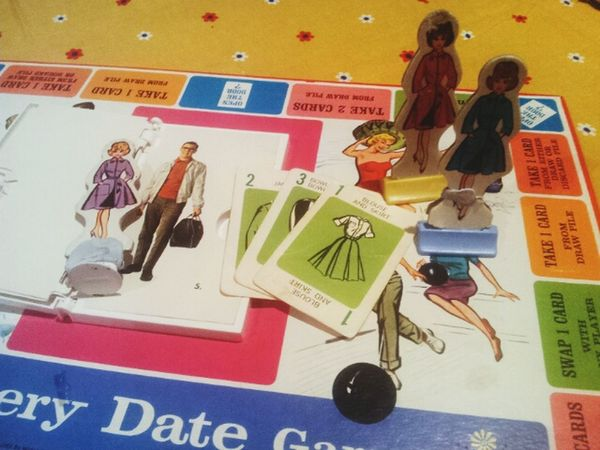 Mystery date! Vintage board game