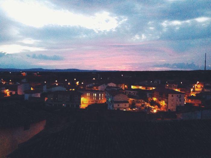 Sunset Colors Sky Gradient