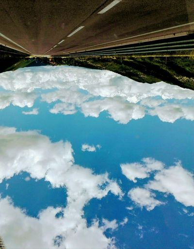 WorldUpsideDown Sky Clouds Infinity Light Blue Sky Immensity Eyemphotography Eyem Nature Lovers  Eyemitalia Water Aerial View Agriculture Business Finance And Industry Rural Scene Mountain Sky Landscape Cloud - Sky Travel
