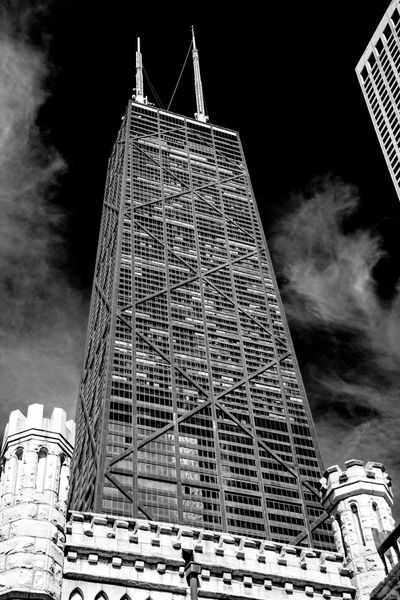 Architecture Building Building Exterior Built Structure Capital Cities  Chicago City Cloud - Sky Famous Place Hancock HancockTower International Landmark Low Angle View Modern Office Building Sky Skyscraper Tall Tall - High Tourism Tower Travel Travel Destinations