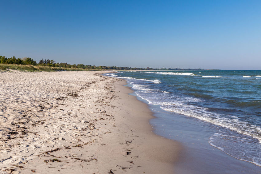 Springtime in Marielyst, Falster, Denmark Danmark Denmark Dänemark Falster Marielyst Marielyst Beach Strand Beach Springtime Beachphotography Baltic Sea Sky Nature Outdoors Dunes No People Tranquility Tranquil Scene