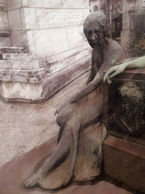 Signore del famedio Cemetery NEM Memories Mob Fiction NEM Painterly