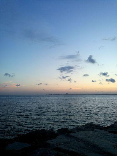 EyeEm Selects EyeEm Best Shots EyeEnOnInstagram EyeEm Nature Lover Water Sea Sunset Beach Low Tide Blue Backgrounds Beauty Sand Relaxation Romantic Sky Seascape Dramatic Sky Coast Moody Sky Cloudscape