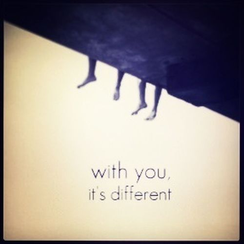 With you.... Love Quotes